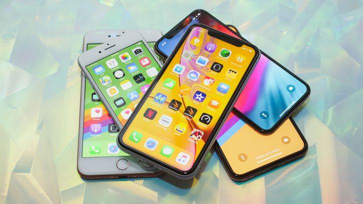 Celular iPhone que se vendió durante el Cyber Monday