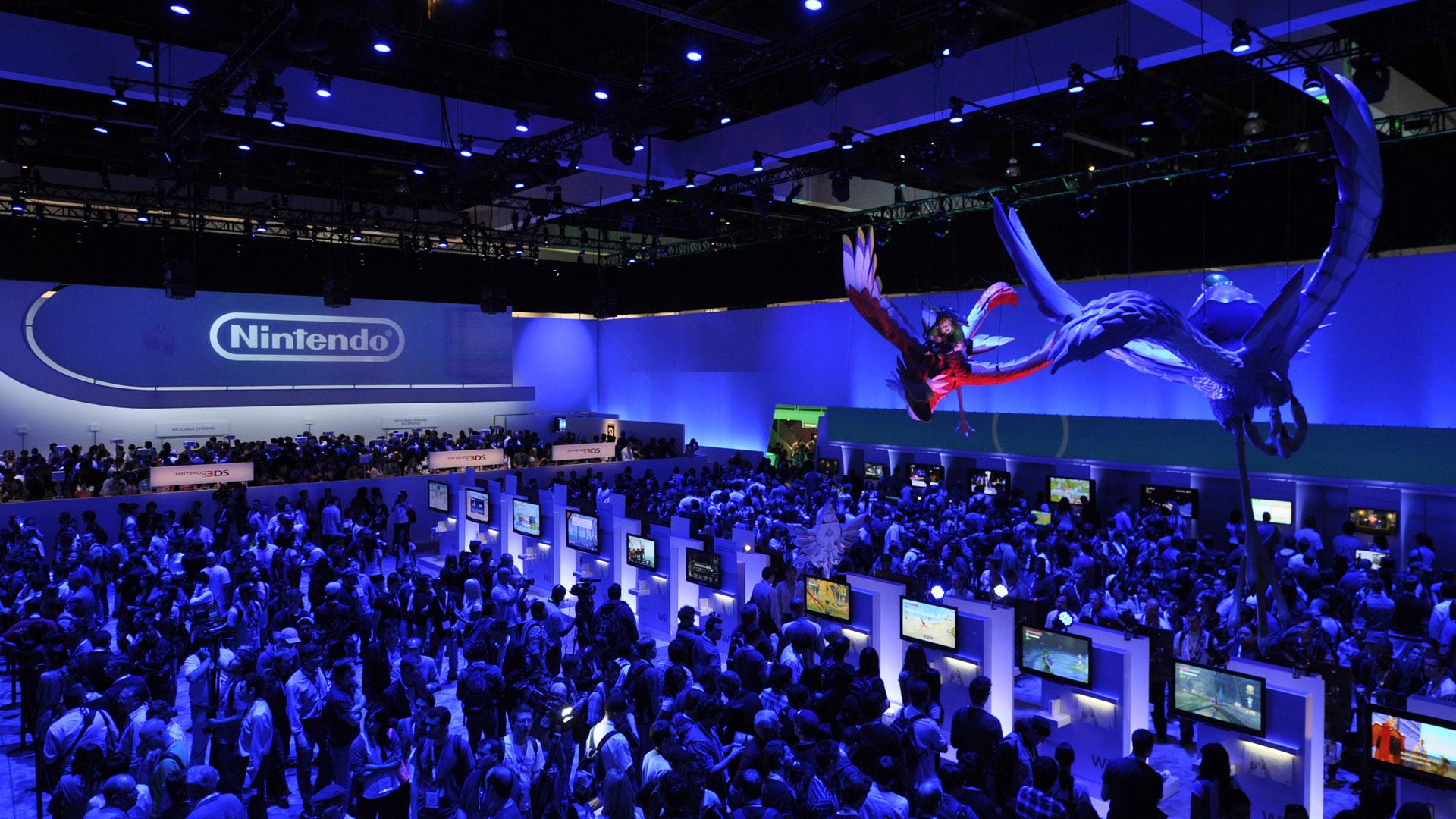 Escenario de Nintendo dentro del E3 2018