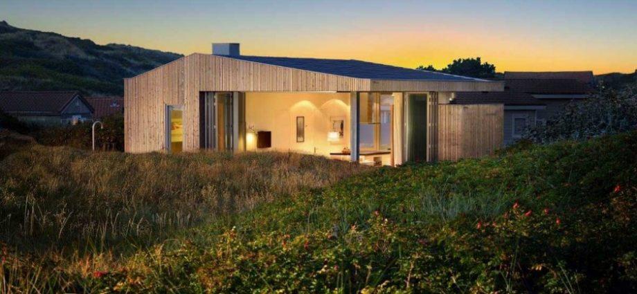Casa construida con materiales sustentables