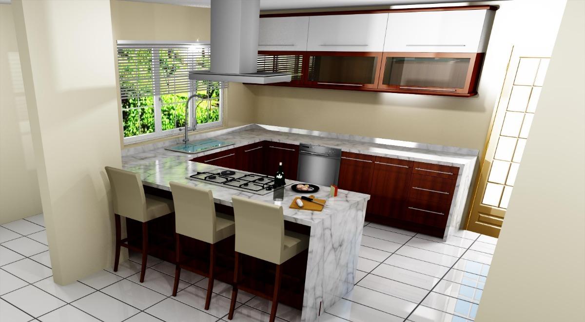 Las cocinas y sus diversos diseños de interiores