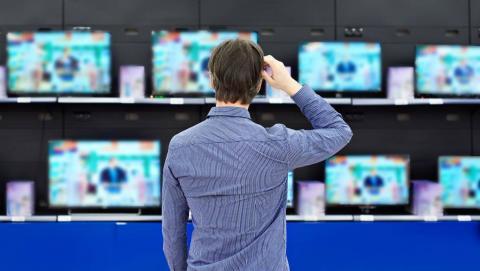 ahorrar en la compra de una tv
