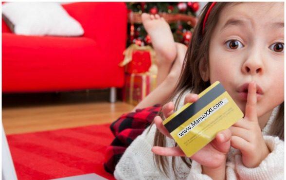 tarjeta de crédito para niños