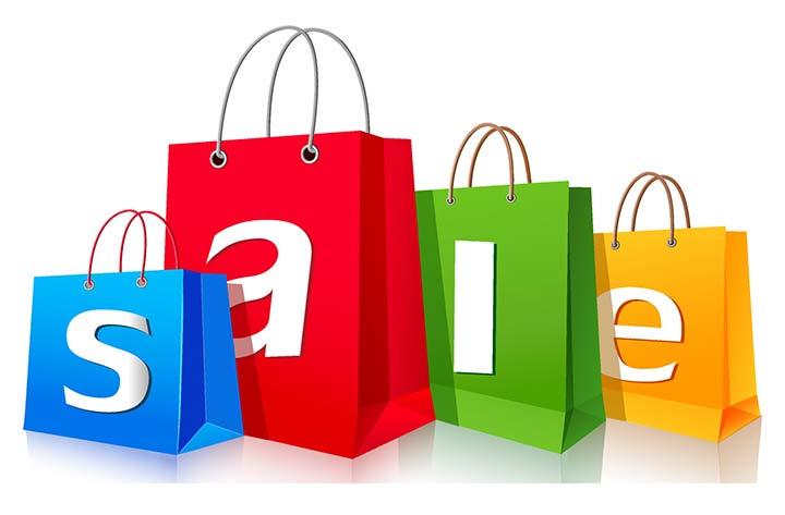 bolsas de compras con descuentos
